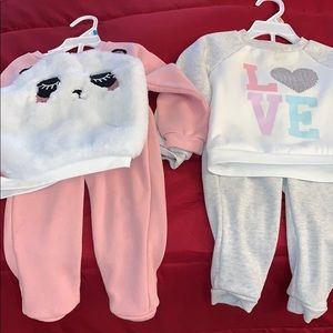 4 Piece Toddler Girl Bundle Size 2T!